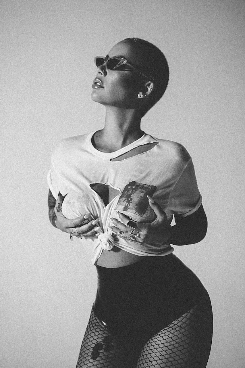 Amber Rose See Through & Sexy (14 Photos)