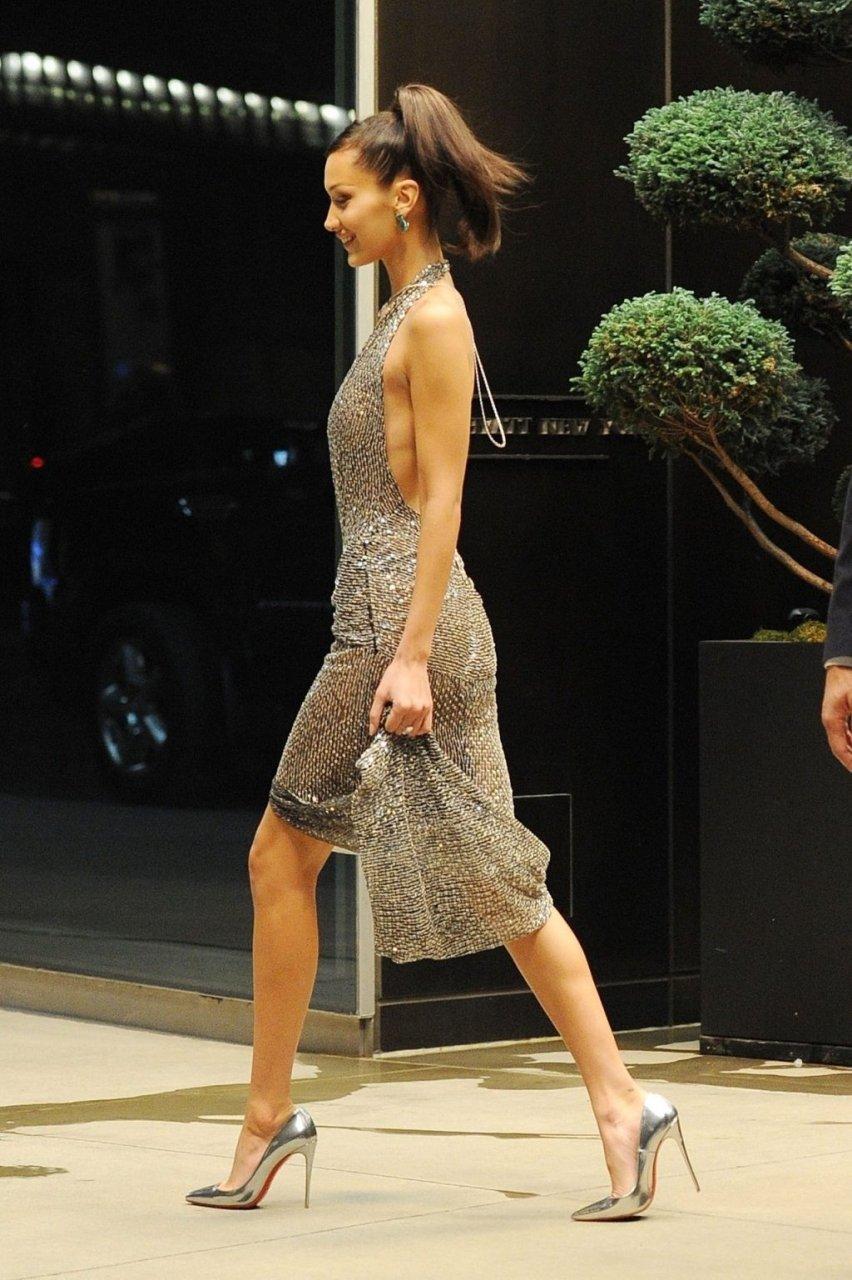 Bella Hadid See Through (38 Photos)