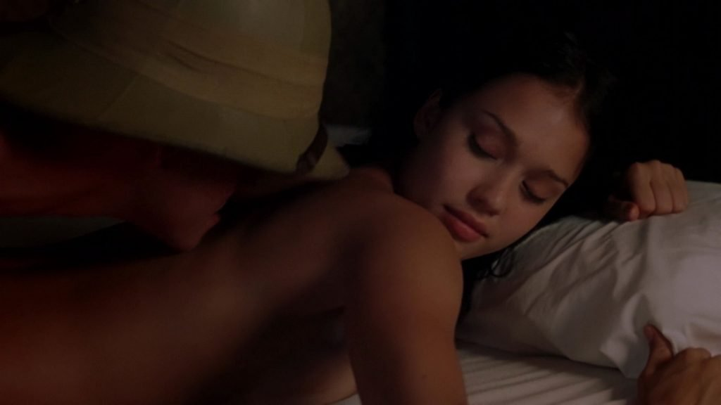 Jessica Alba Nude – The Sleeping Dictionary (8 Pics + GIF & Video)