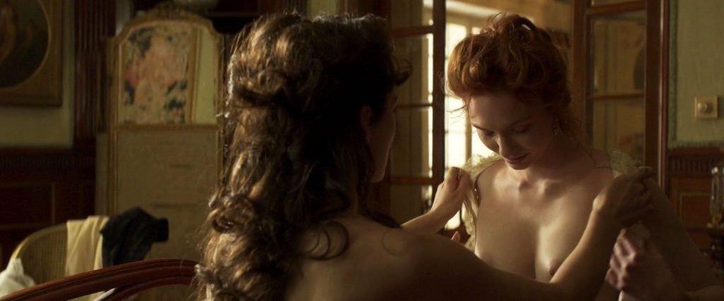 Keira Knightley, Eleanor Tomlinson Nude – Colette (8 Pics + GIFs & Video)