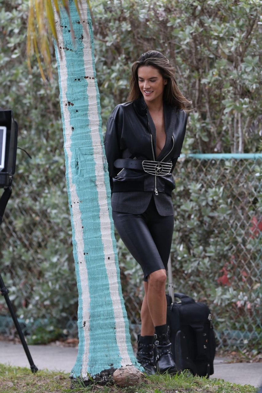 Alessandra Ambrosio Nip Slip (39 Photos)