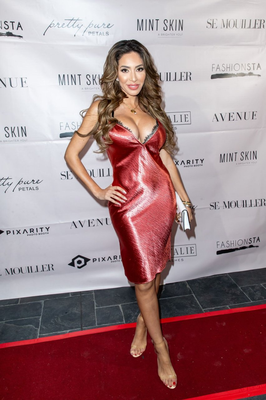 Farrah Abraham appears Se Mouiller Lingerie event at Avenue in Hollywood, California, 13-02-2019