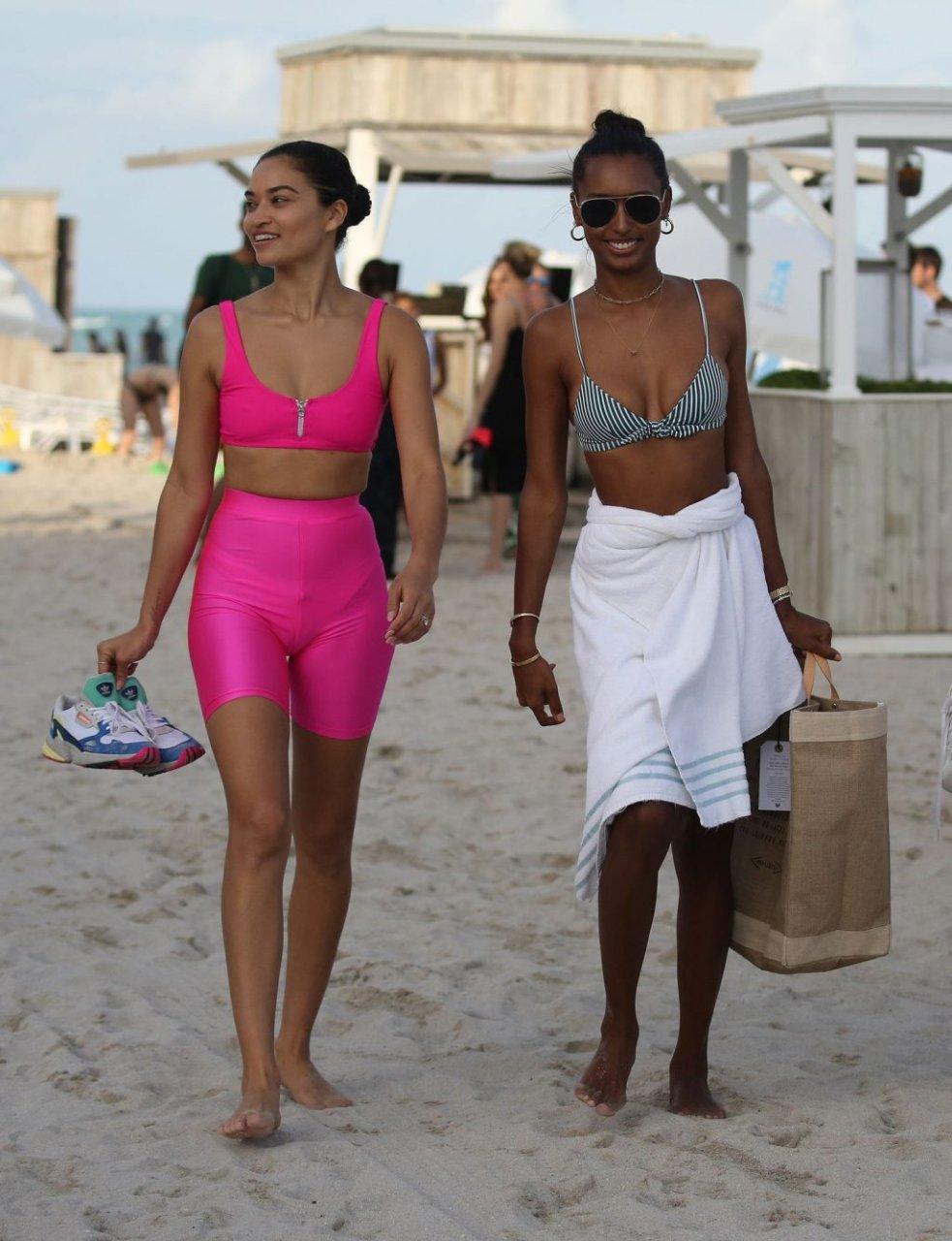 Jasmine Tookes, Shanina Shaik, Lais Ribeiro Sexy (169 Photos)
