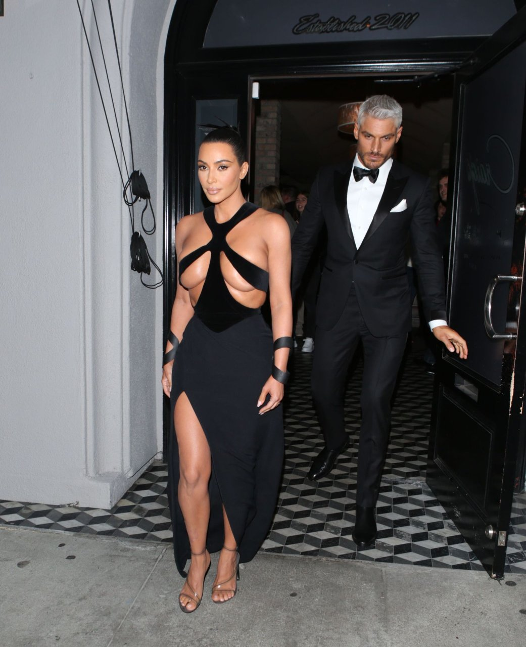 Kim Kardashian at the 5th Annual Hollywood Beauty Awards in Hollywood, CA 17-02-2019