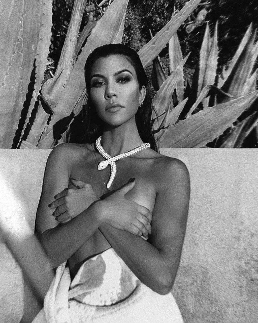 Kourtney Kardashian Sexy & Topless (5 Photos)