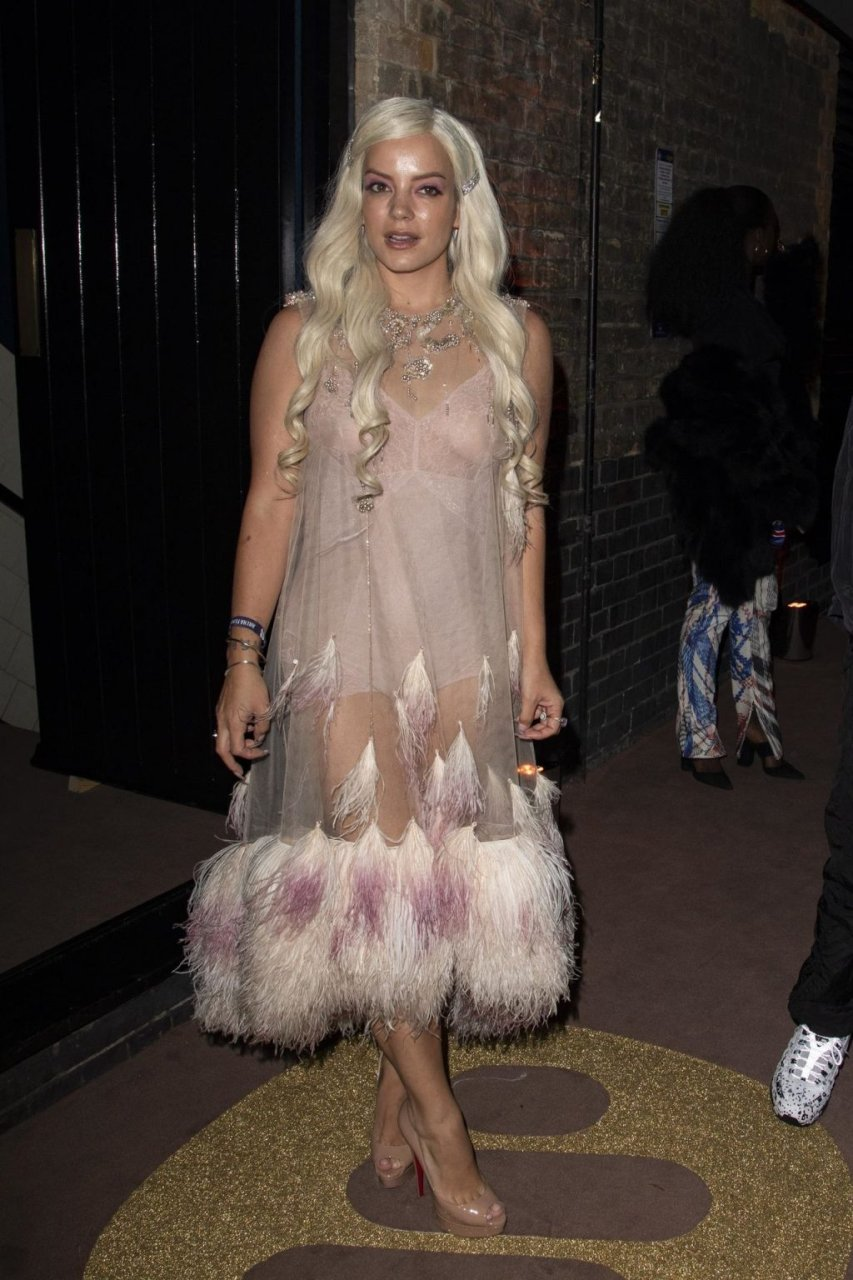 Lily Allen See Through (31 Photos + Video)
