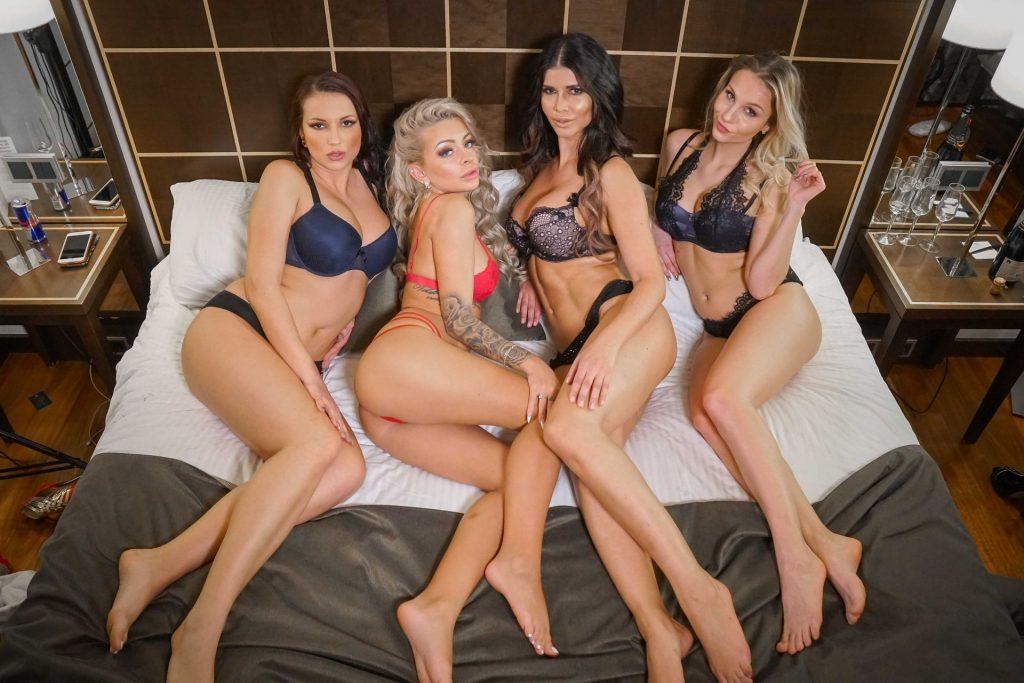 Micaela Schäfer, Katja Krasavice, Jolee Love, Mary Wet Nude & Sexy (7 Photos)