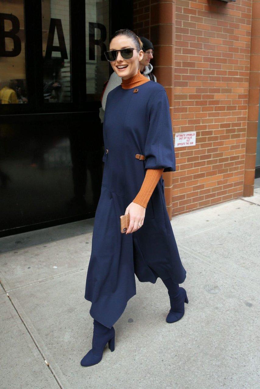 Olivia Palermo Braless (16 Photos)