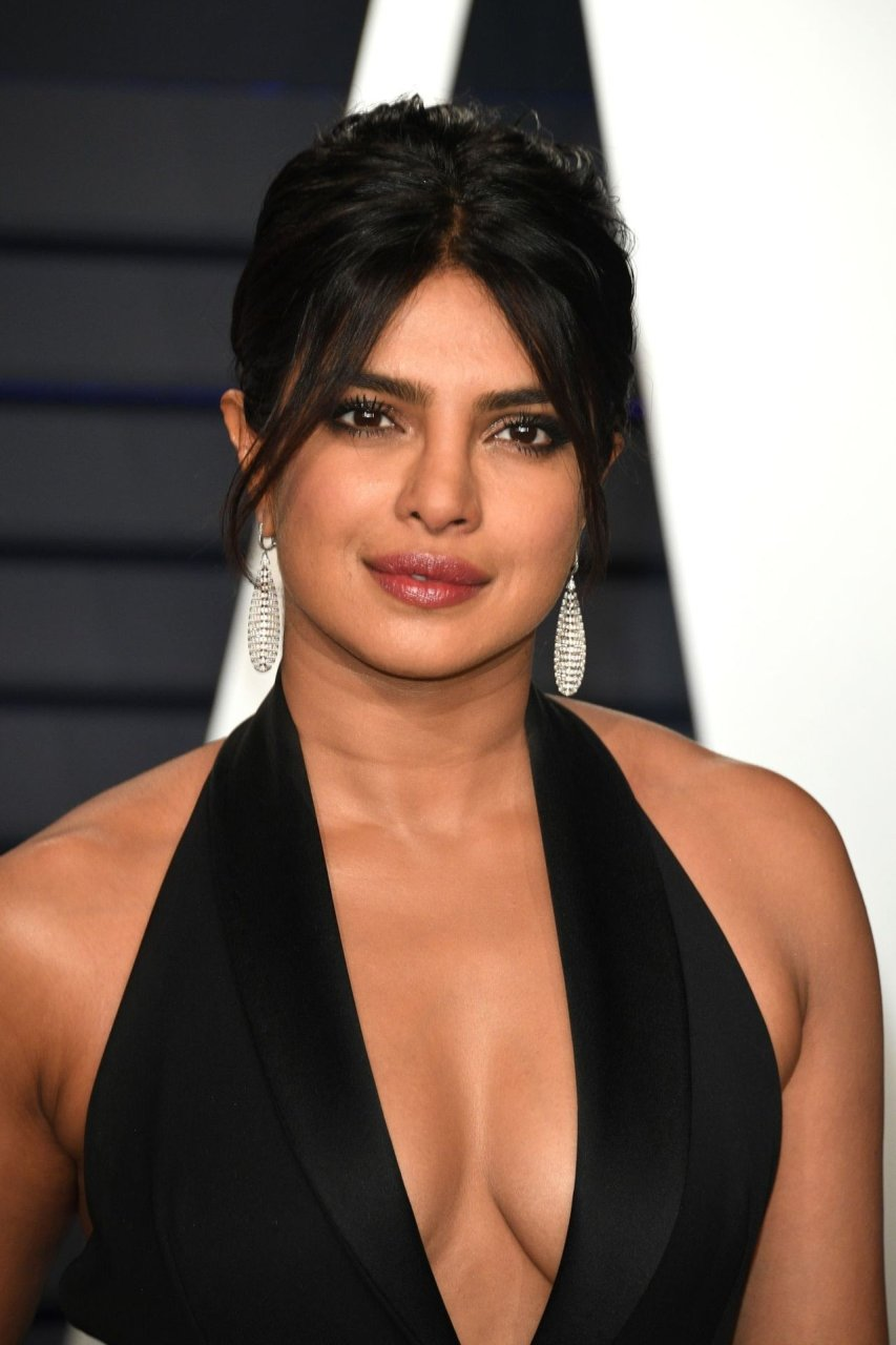 Priyanka chopra wore a sheer skirt with nick jonas to post