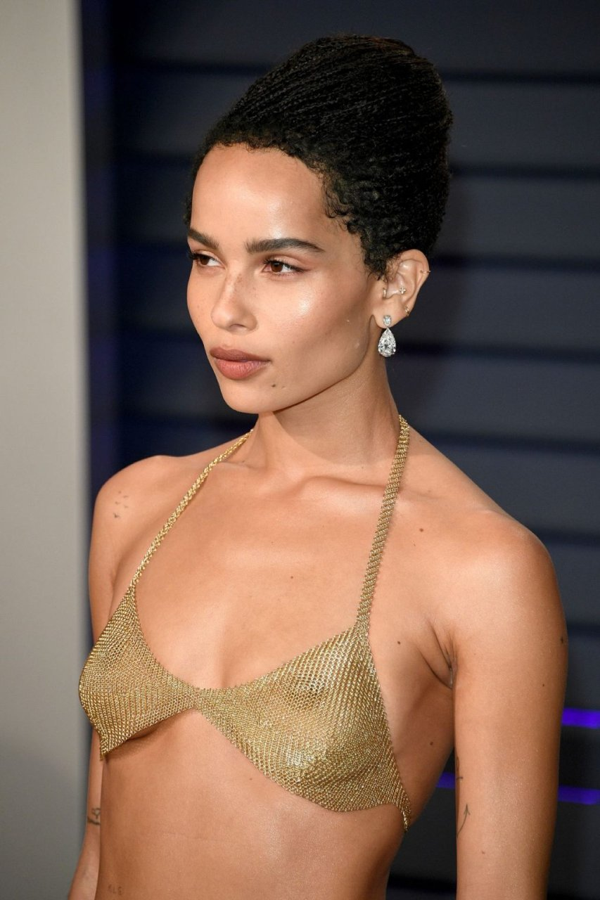 Zoe Kravitz See Through Nude