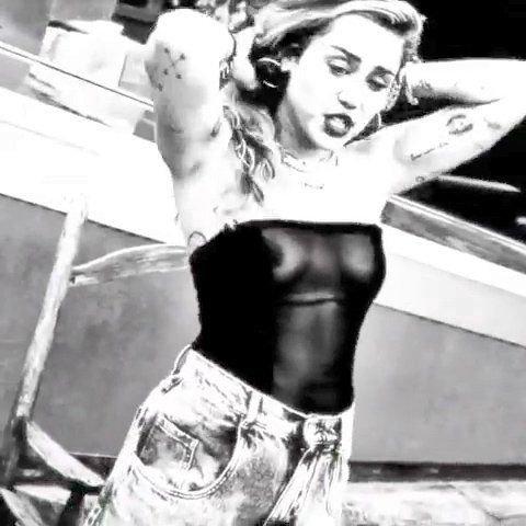Miley Cyrus See Through (8 Pics + Video)