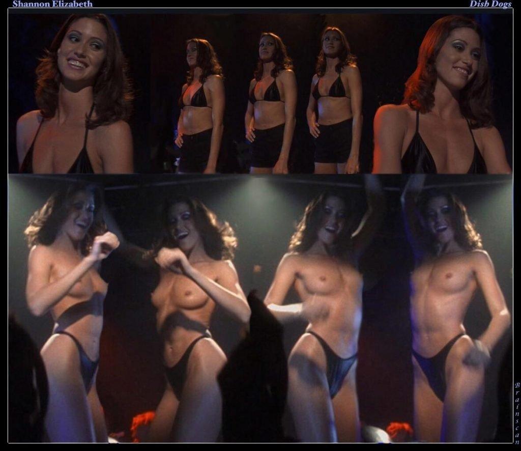 Can look actress shannon elizabeth nude happens. Let's