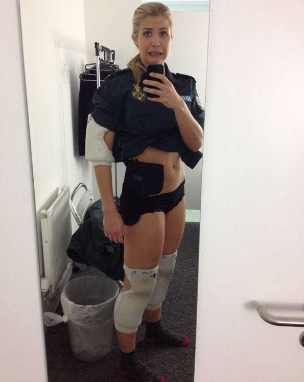 Gemma Atkinson Nude Leaked Fappening (5 Photos)