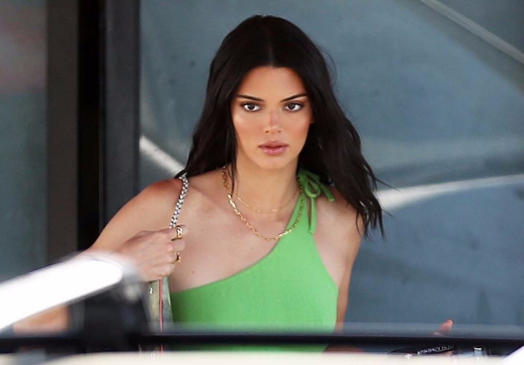 Kendall Jenner Braless (15 New Photos)
