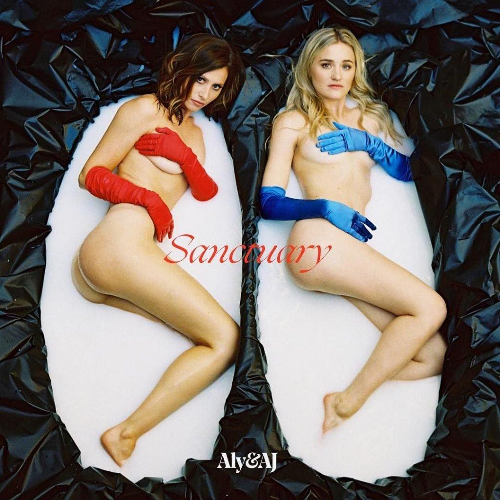 Aly & AJ Michalka Nude
