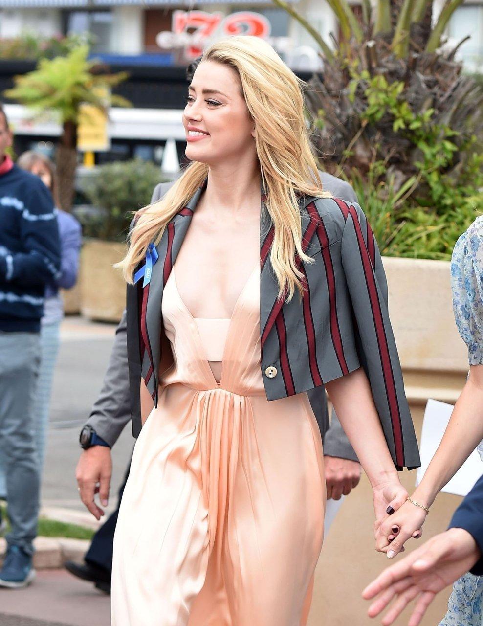 amber heard @ 72nd Cannes International Film Festival 17-05-2019