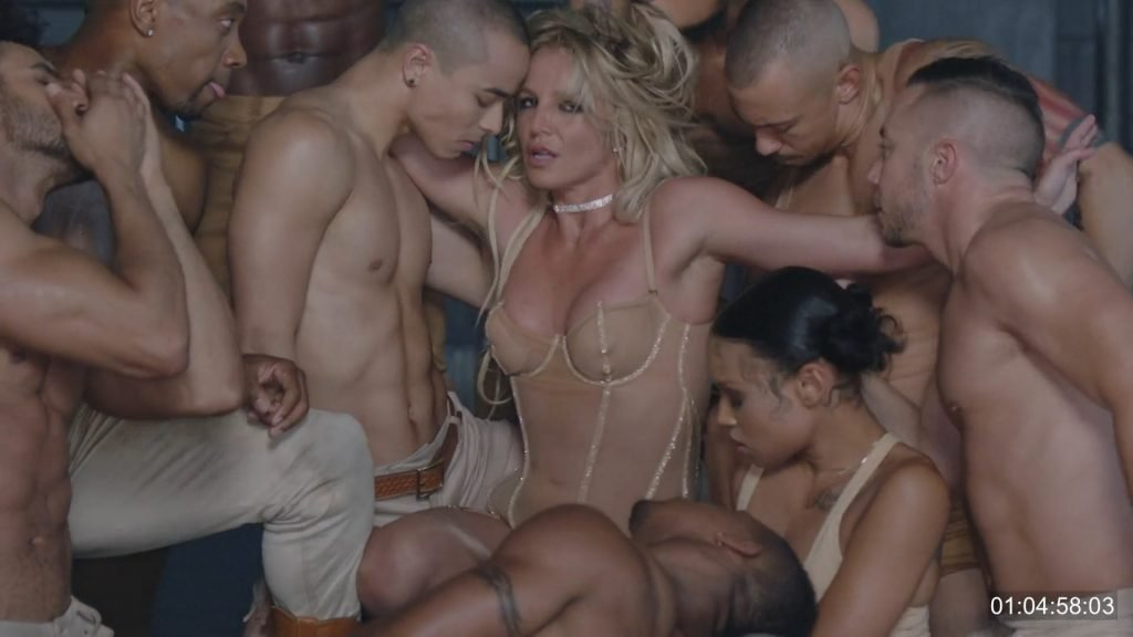 Britney Spears Hot – Make Me (25 Pics + GIFs & Video)