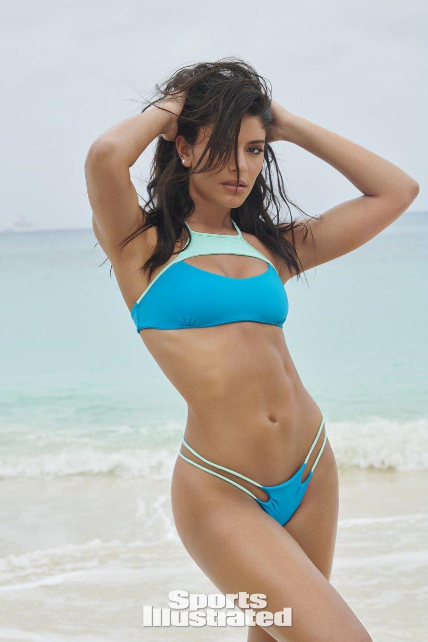 Manuela in a bikini