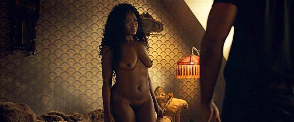 Yetide Badaki Nude – American Gods (4 Pics + GIF & Video)