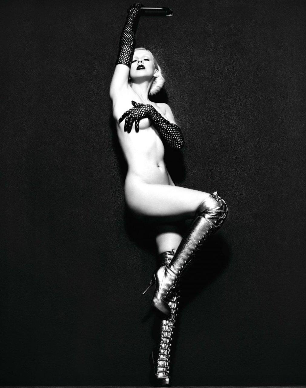 Christina aguilera strumpf nackt