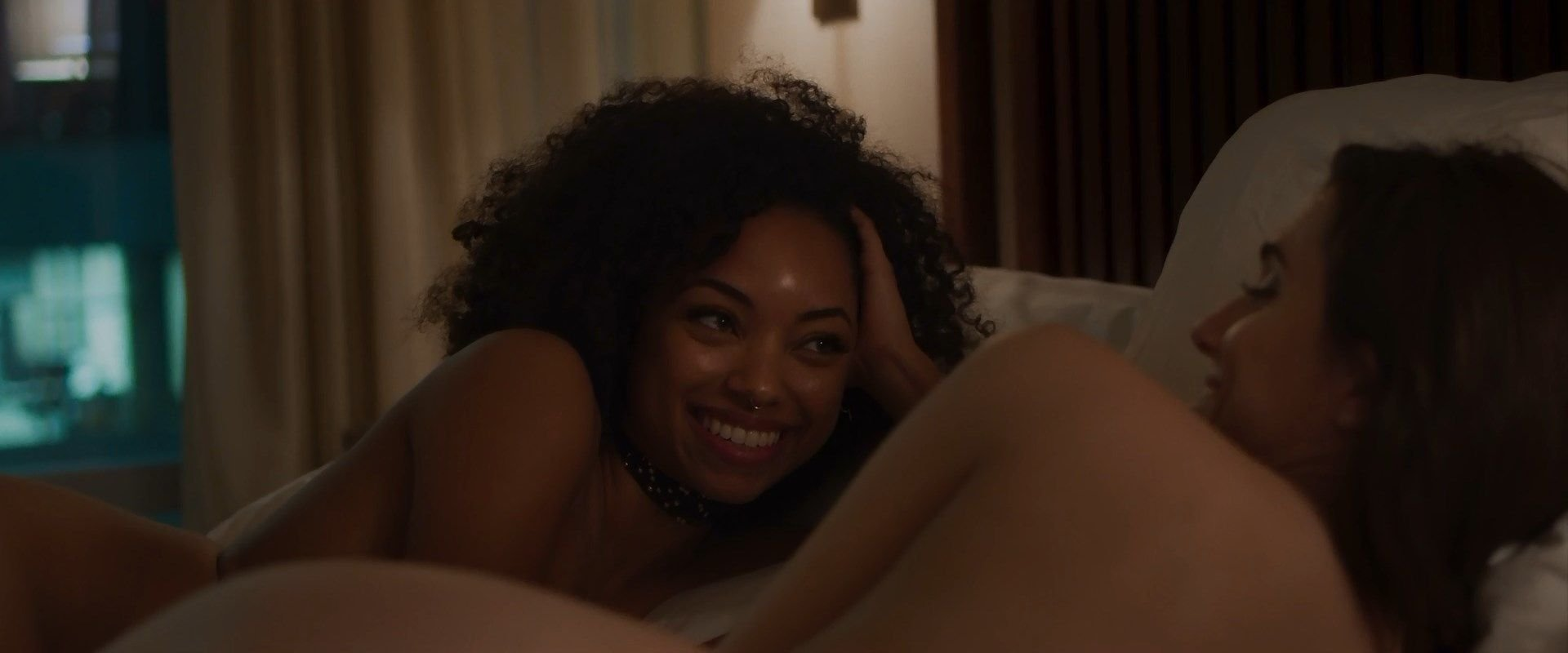 Allison Williams Porn logan browning, allison williams nude – the perfection (12