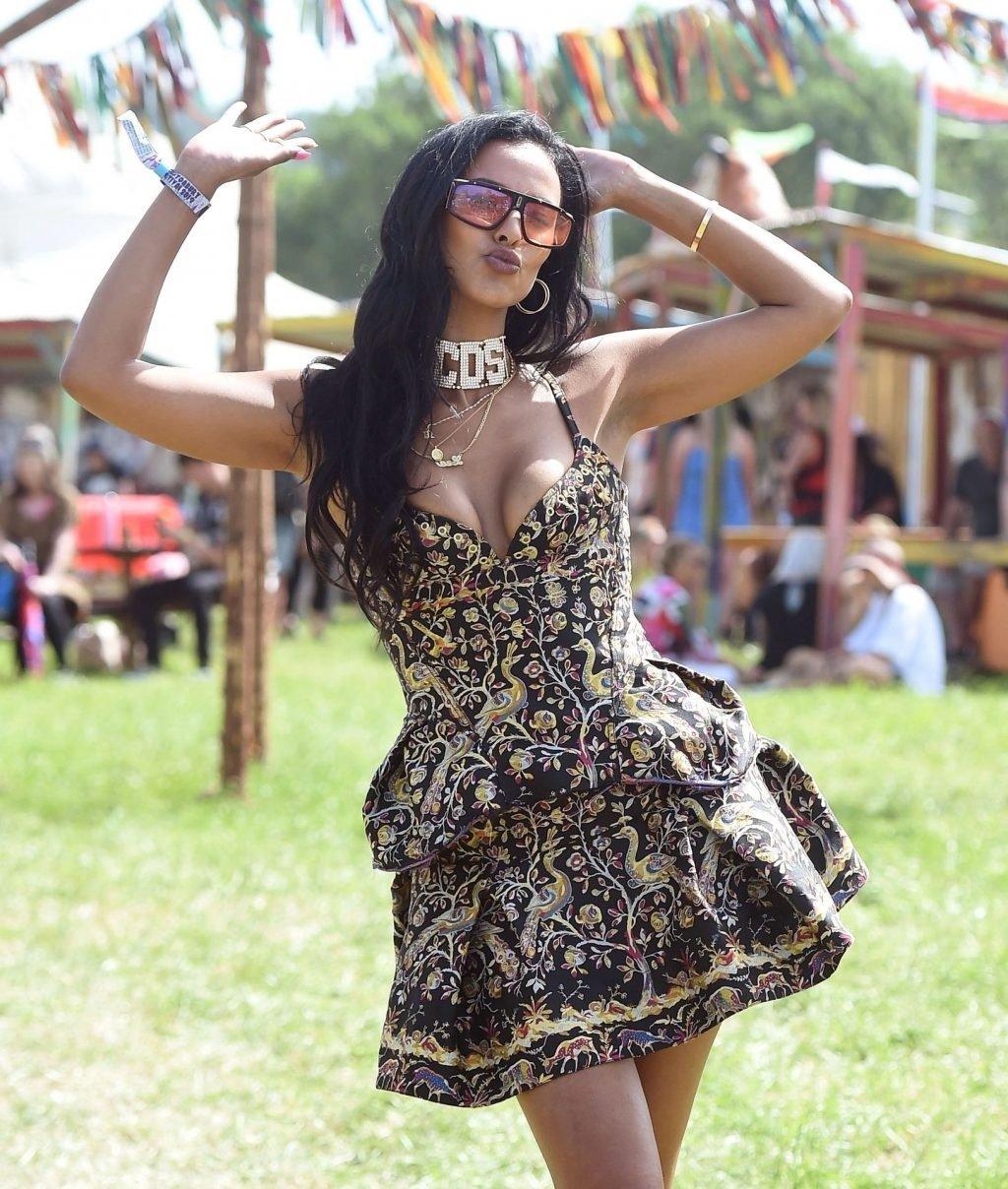 Maya Jama Sexy (7 Photos + Video)