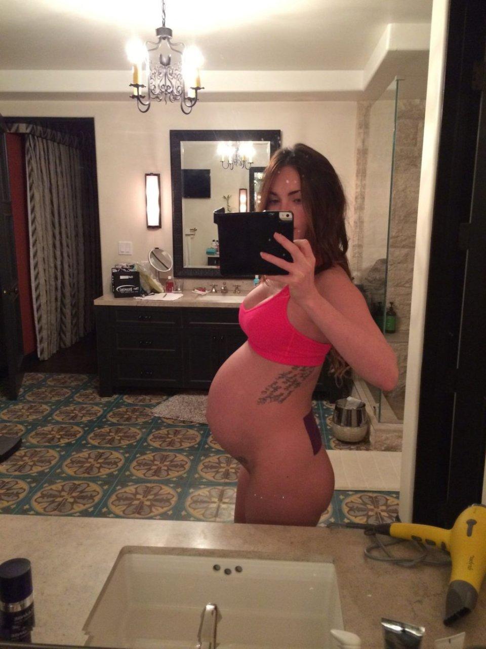 Megan rain embarazada