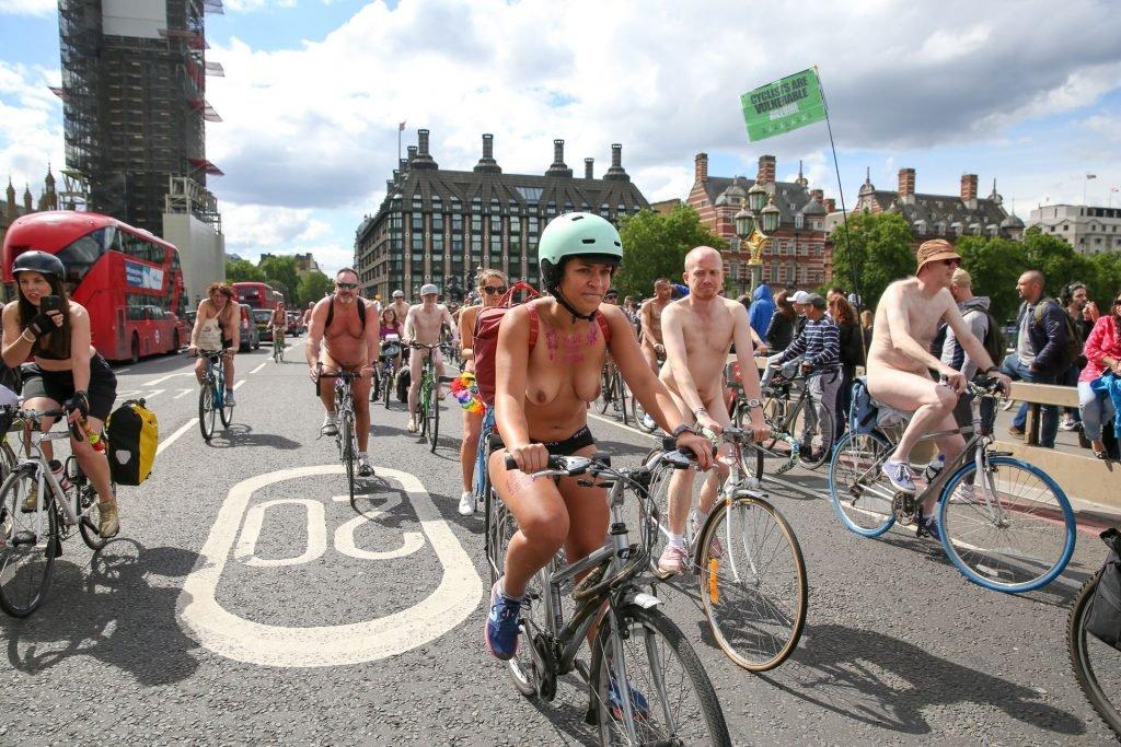 World Naked Bike Ride in London (24 Photos)