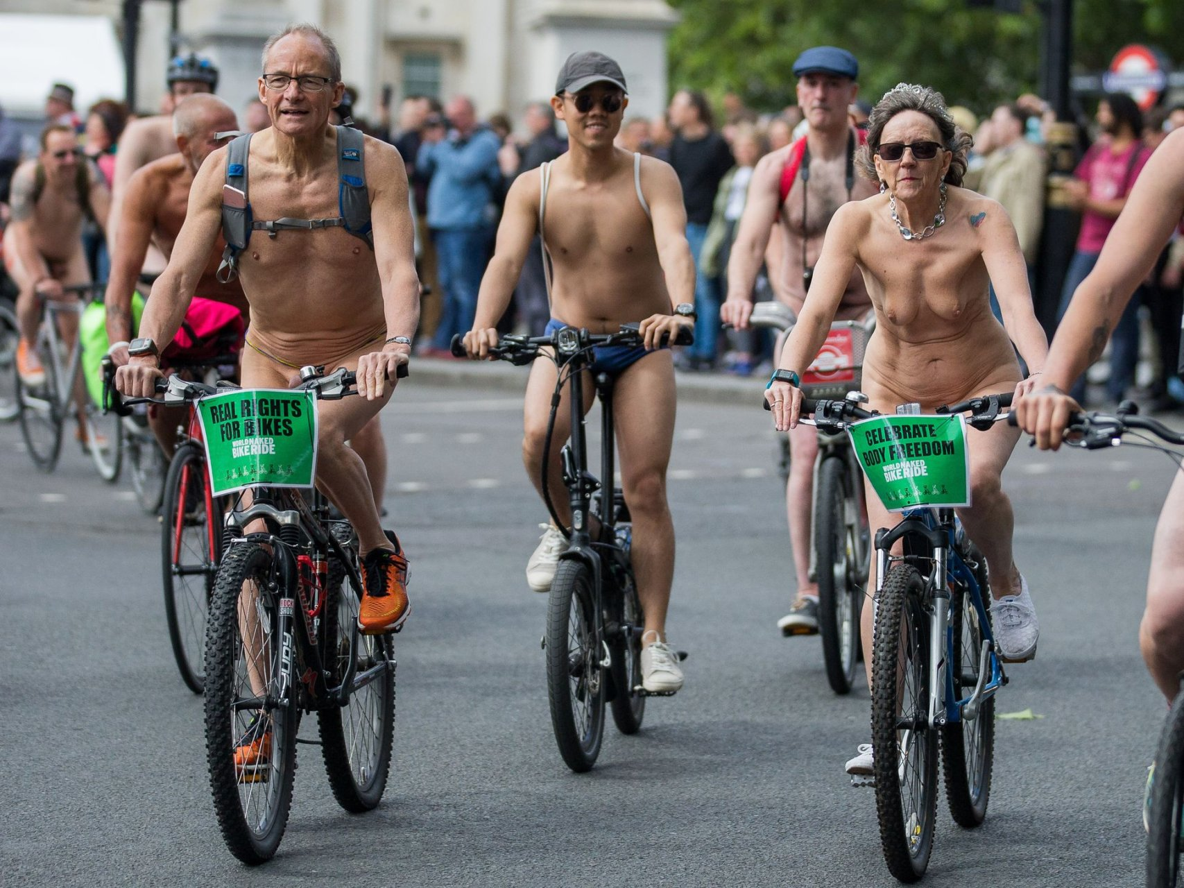 Women's Nude Cycling Kit Labelled Unacceptable