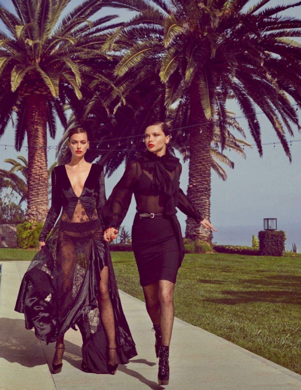 Irina Shayk, Adriana Lima See Through & Sexy (17 Photos)