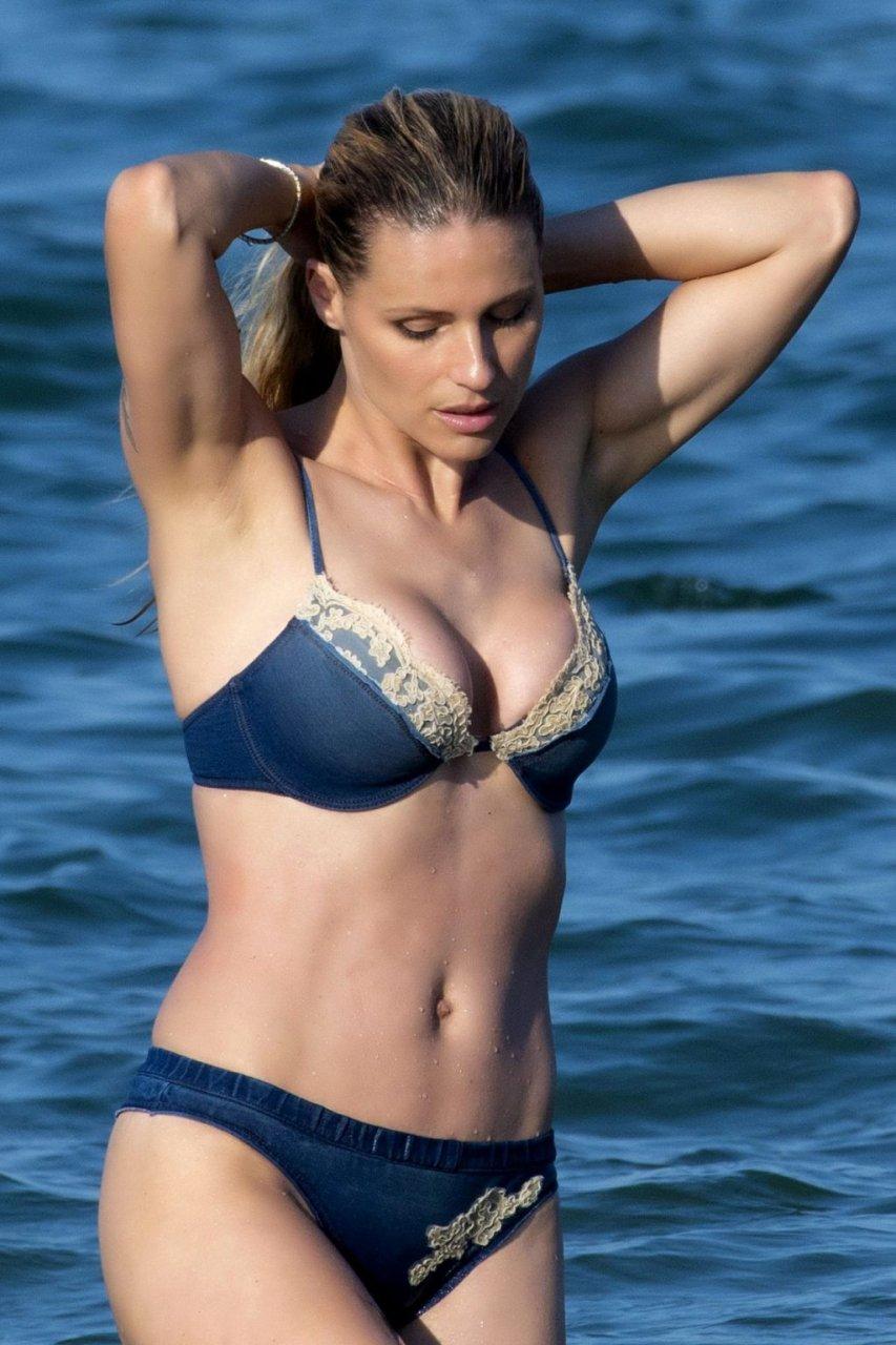 Michelle Hunziker Sexy (24 Photos)