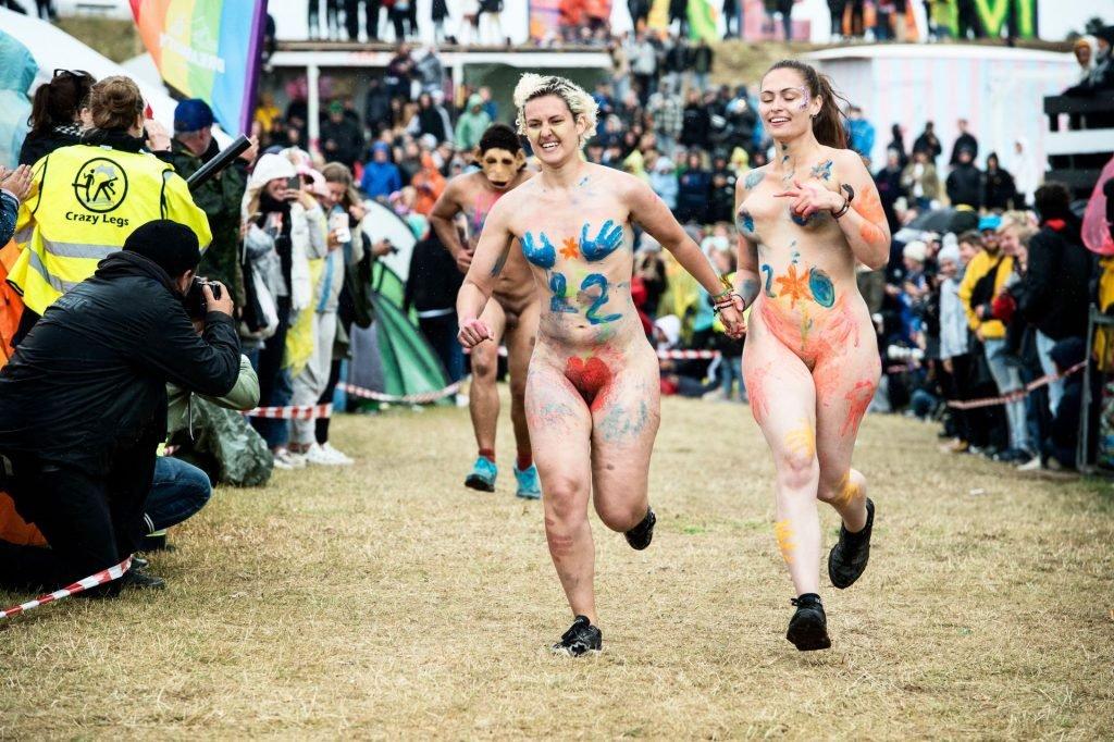 Roskilde festival naked run