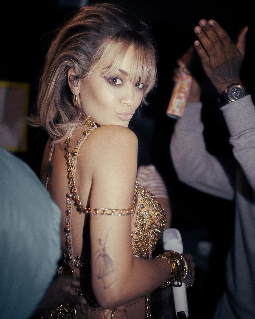 Rita Ora Sexy & Topless (10 Photos)