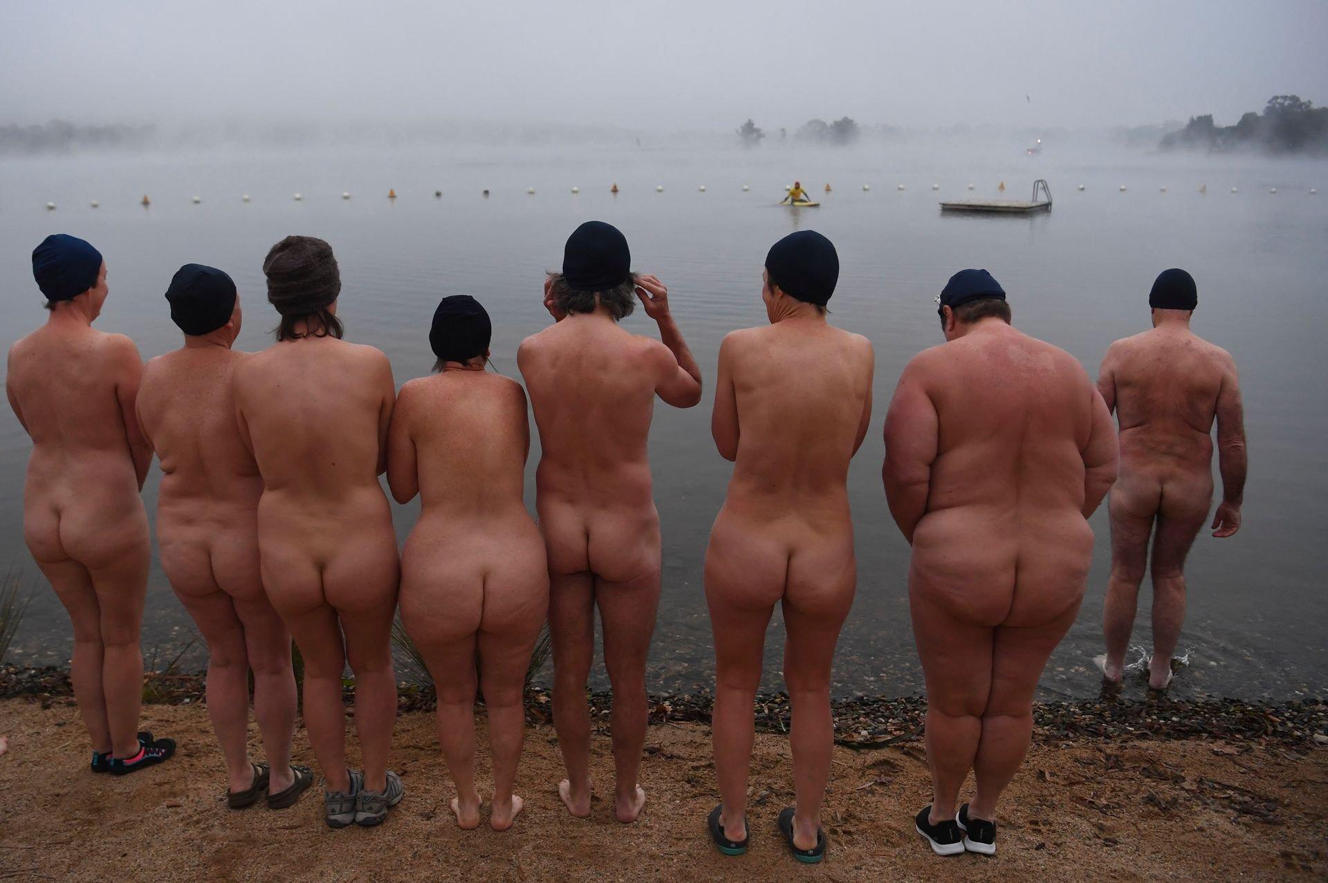 Dark Mofo Festival's Nude Swim Has Towel Shortage