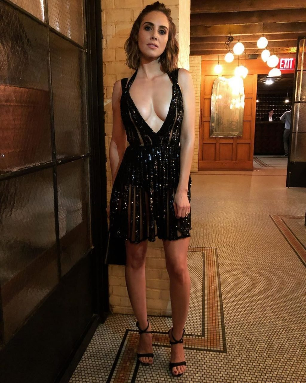 Alison Brie Sexy (13 New Photos + Video)