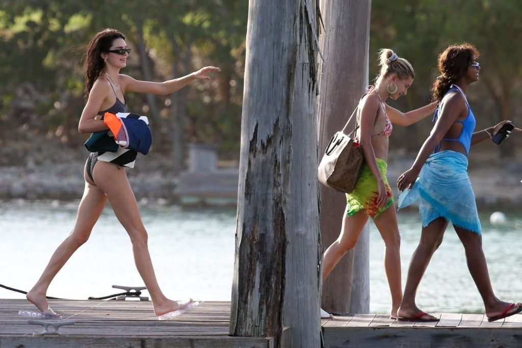 Hailey Bieber, Kendall Jenner, Justine Skye Sexy (103 Photos)
