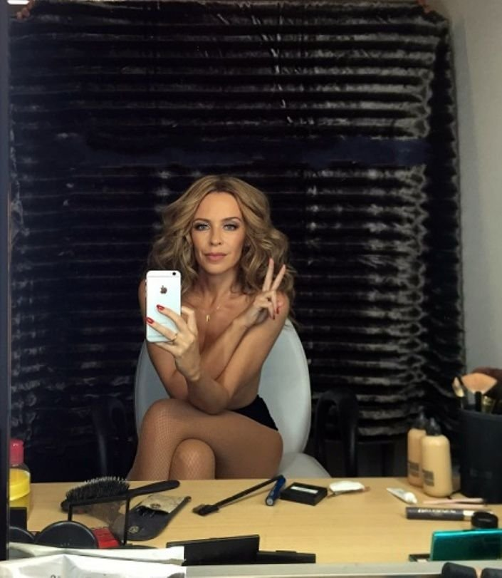 nackt Minogue Kylie Kylie Minogue