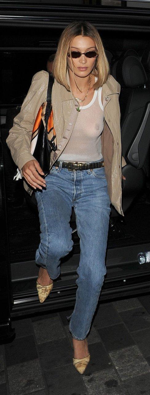 Bella Hadid See Through (22 New Photos)