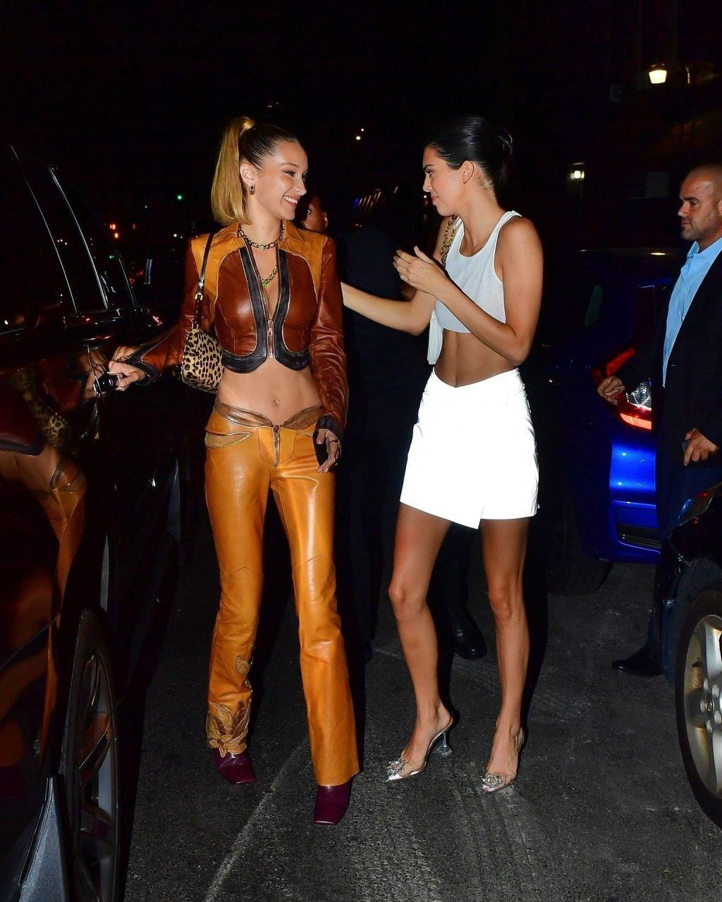 Bella Hadid Sexy, Kendall Jenner See Through (23 Photos)