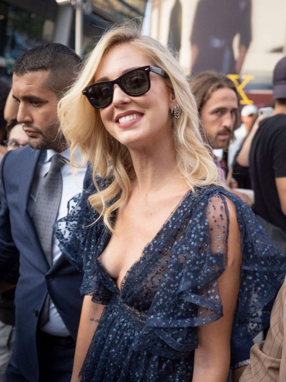 Chiara Ferragni Nip Slip (13 Photos)
