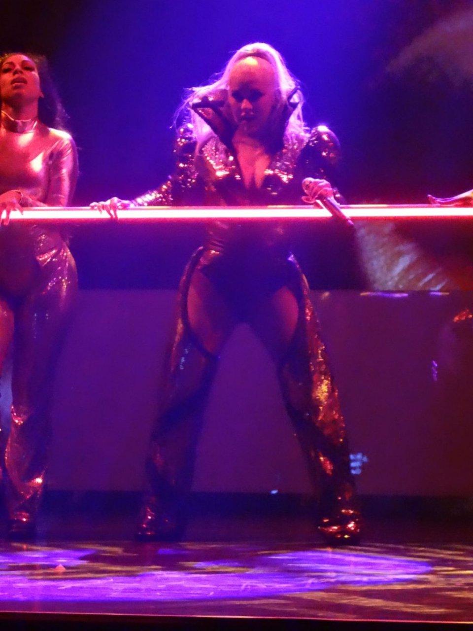 Christina Aguilera's Wardrobe Malfunction (72 Photos)