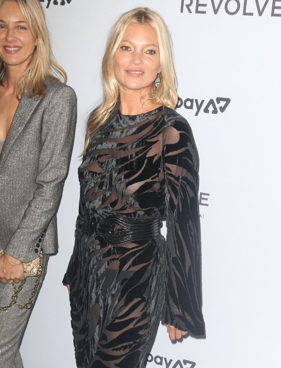 Kate Moss BRALESS at the Daily Front Row Fashion Media Awards, New York, 09/05/2019.