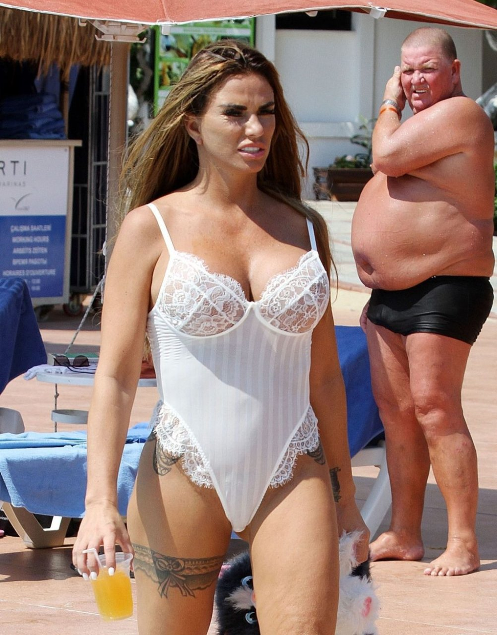 Katie Price See Through Nude