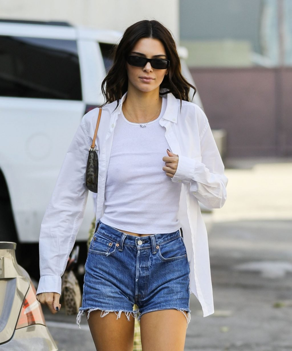 Kendall Jenner Braless (30 Photos)