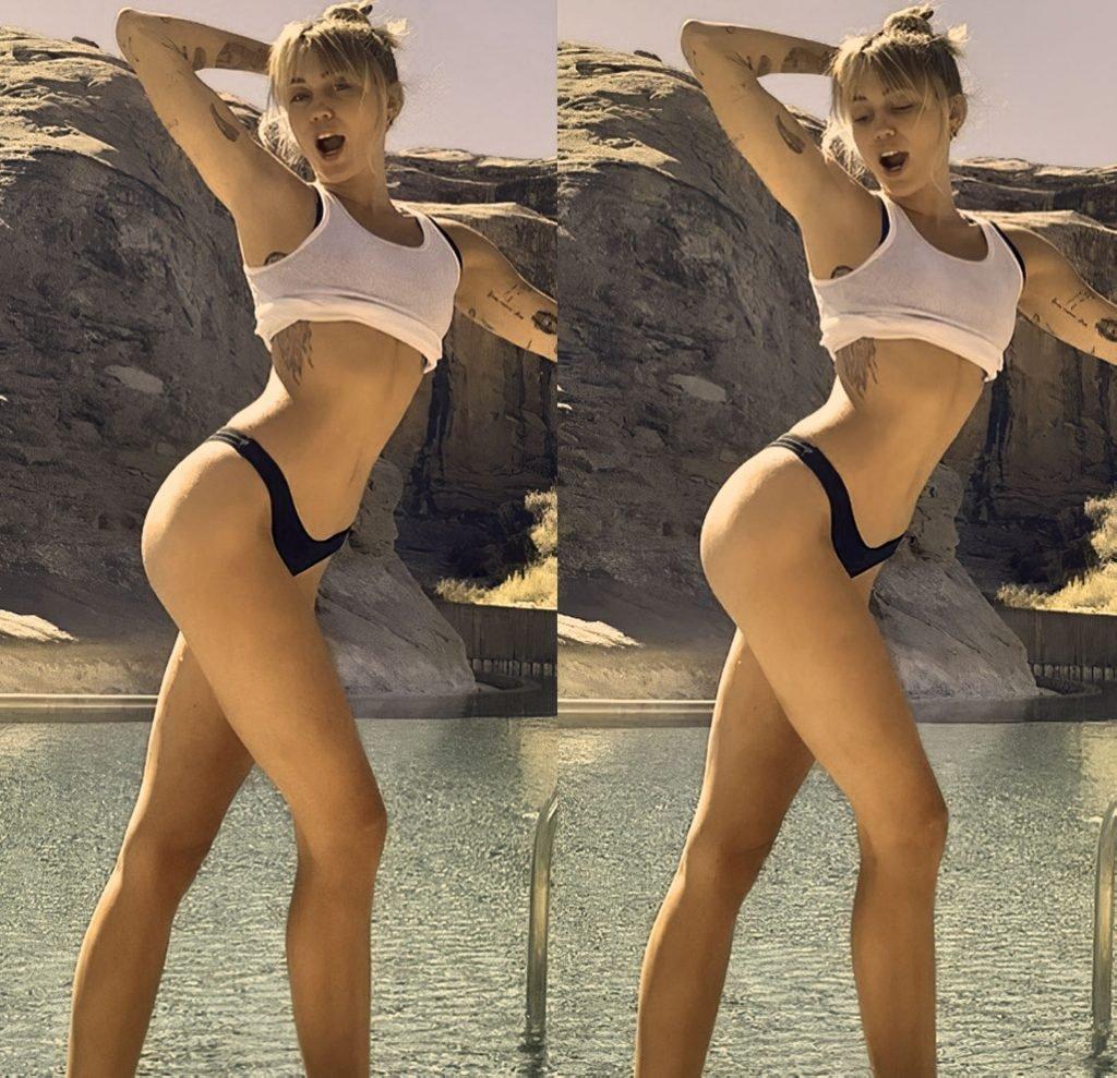 Miley Cyrus Sexy (6 Photos + GIF)