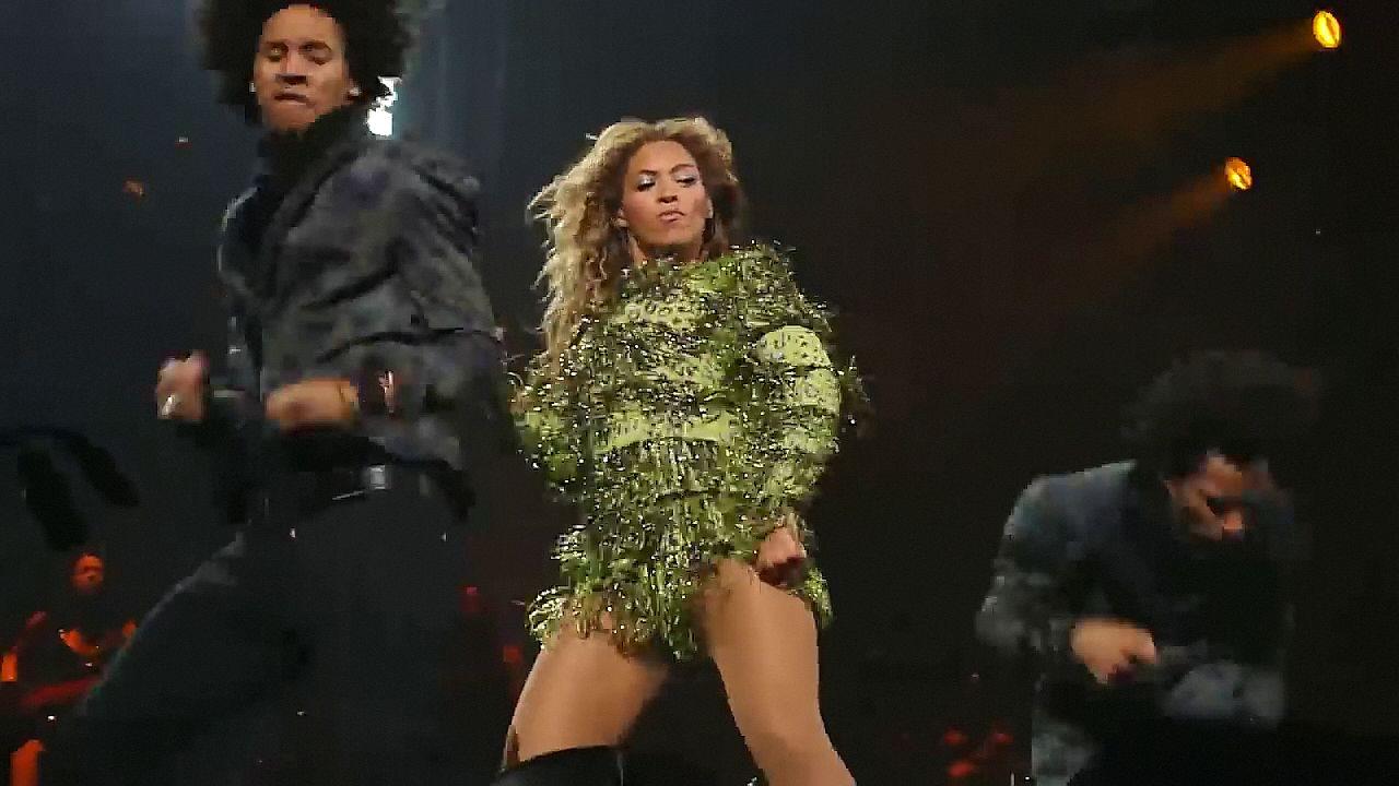 Beyonce upskirt video