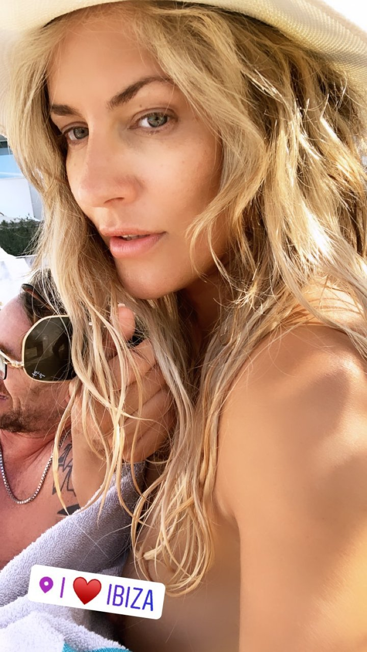 Caroline Flack Nip Slip (2 Photos)