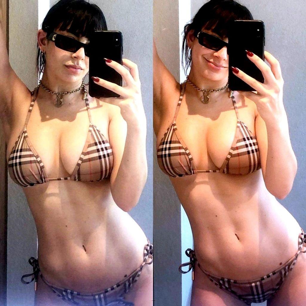 Charli XCX Big Boobs & Nipples Collection (8 Pics + Video)