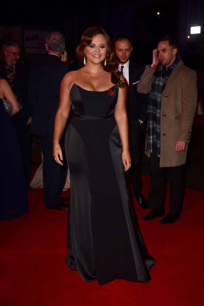 Emily Atack attends Pride of Britain Awards in London, 28-10-2019