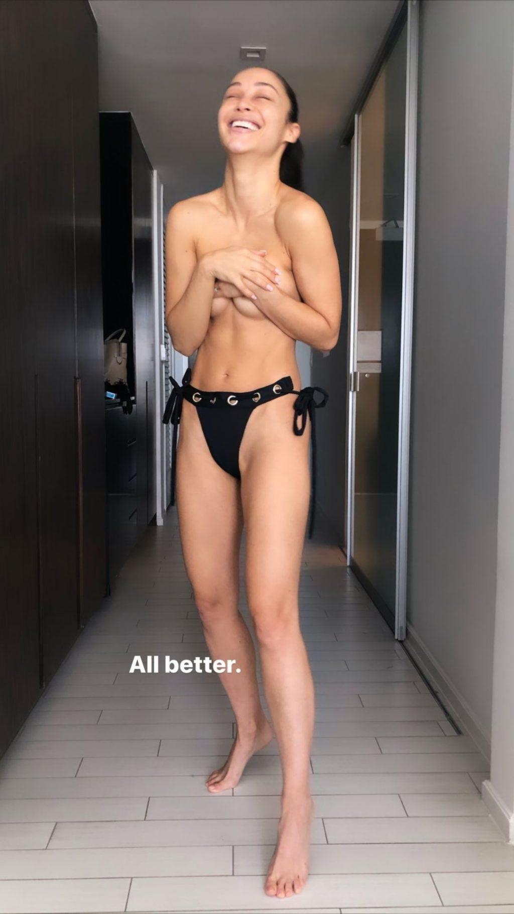 Cara Santana Sexy & Topless (33 Photos + Video)